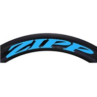 Zipp 404 Decal Set for One Wheel - Matte Blue