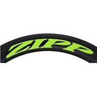 Zipp 404 Decal Set for One Wheel - Matte Green