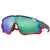 Oakley Jawbreaker Polished White / Jade Iridium