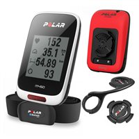 Polar M450 HR GPS Cycle Computer Red Special Edition