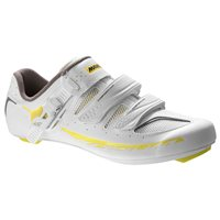 Mavic Ksyrium Elite W II Woman's Road Shoe - White / Yellow