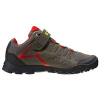 Mavic Crossride MTB shoes - Grey / Red / Black