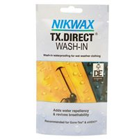 NIKWAX TX Direct wash-in waterproofing for wet weather clothing