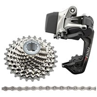 SRAM Red ETAP WiFLi Upgrade Kit (Rear Derailleur & Battery, XG-1190 11-32 Cassette, PC Red22 Chain)