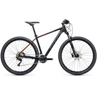 Cube Attention SL Hardtail Black & Orange - 2017