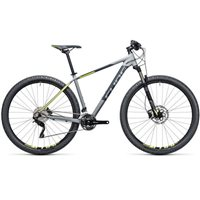Cube Attention SL Hardtail Grey & Yellow - 2017