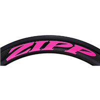 Zipp 404 Decal Set for One Wheel - Matte Pink