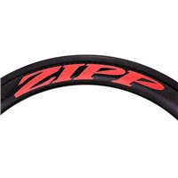Zipp 404 Decal Set for One Wheel - Matte Red