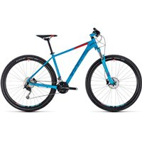 Cube Aim SL Hardtail Blue & Red - 2018