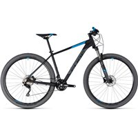 Cube Attention Hardtail Black & Blue - 2018