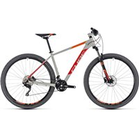 Cube Attention Hardtail Grey & Red - 2018