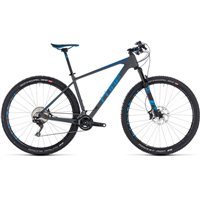 Cube Reaction C:62 SL Hardtail Grey & Blue - 2018