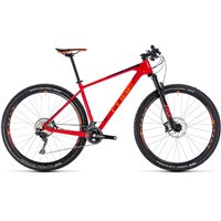 Cube Reaction C:62 Race Hardtail Red & Orange - 2018
