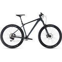 Cube Reaction TM Hardtail Grey & Black - 2018
