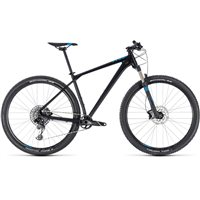 Cube Reaction Race Hardtail Black & Blue - 2018