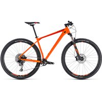 Cube Reaction Race Hardtail Orange & Red - 2018
