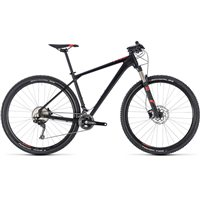 Cube Reaction Pro Hardtail Black & Red - 2018