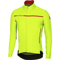 Castelli Perfetto Long Sleeve Jersey - Fluo Yellow
