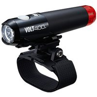 Cateye Volt 400 Duplex Front / Rear Helmet Light