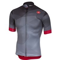 Castelli Flusso Cycling Jersey - Anthracite