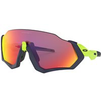Oakley Flight Jacket Matt Navy / Retina Burn Prizm Road