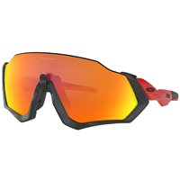 Oakley Flight Jacket Matt Black Redline Prizm Ruby Polarized