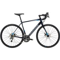 Cannondale Synapse Disc Tiagra Road Bike - Black / Silver / Blue - 2019