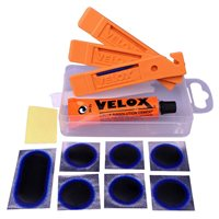 Puncture Repair Kit + 3 Tyre Levers by Velox