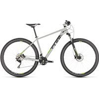 Cube Attention Hardtail Grey n Green 2019
