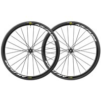 Mavic Aksium Elite UST 28mm Centre Lock Disc SUP Wheelset - Black