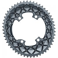 absoluteBLACK Road Oval Chainring For Shimano Dura Ace R9100 & Ultegra R8000