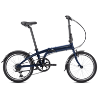 Tern Link A7 20 Inch Folding Bike - Midnight Blue