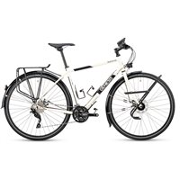 Genesis Tour de Fer 20 Touring Bike - Cream - 2020