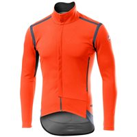 Castelli Perfetto ROS Long Sleeve Jacket - Orange