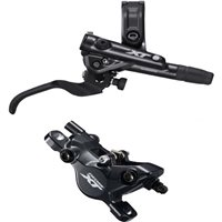 Shimano BR-M8100 XT bled I-spec-II compatible Brake Lever and Caliper.
