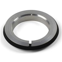 "Hope 1 1/8"" Headset Crown Race (07) - Silver"