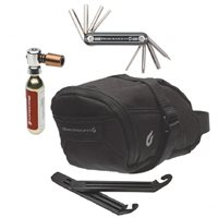 Blackburn Local Saddle Bag + Multi Tool, Tyre Levers and CO2 Inflator