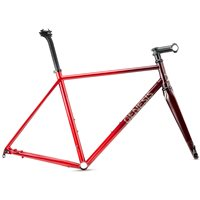 Genesis Volare 853 Disc Steel Frame & Fork - Red