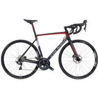 Colnago V3 Ultegra Disc Brake Road Bike - Black & Red
