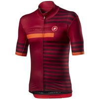 Castelli Mid Weight Pro Jersey- Red