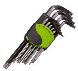 Birzman Long Arm Torx Key Set - 9 Pieces