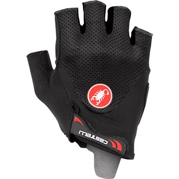 Castelli Arenberg 2 Gel Gloves - Black  - Click to view a larger image