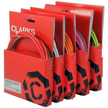 Clarks Stainless Steel Brake Cable Set - Universal  - Click to view a larger image