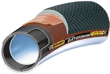 Continental Sprinter Gatorskin Tubular - 700c  - Click to view a larger image