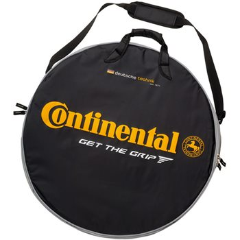 Continental Black Chili Double Wheelbag  - Click to view a larger image