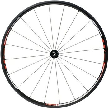 Fast Forward F2R Full Carbon Clincher Wheelset - Red Decals  - Click to view a larger image