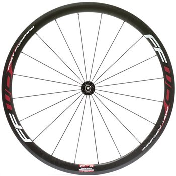 Fast Forward F4R Tubular Wheels - Red Decals  - Click to view a larger image