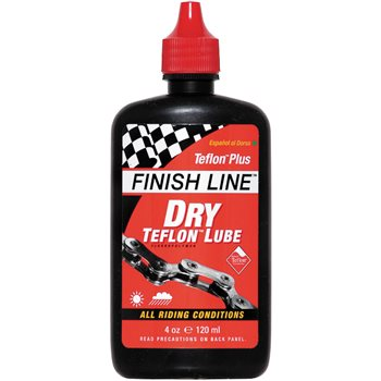 Finish Line Dry Bike Lubricant With Teflon  - Click to view a larger image