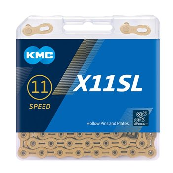 KMC X11SL 11 Speed Titanium Nitrided Chain