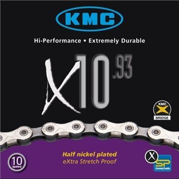 KMC X10.93 10 Speed Chain  - Click to view a larger image